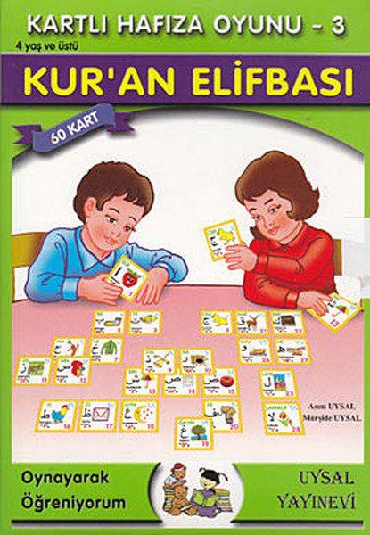 Kartlı Hafıza Oyunu 3 - Kur'an Elifbası