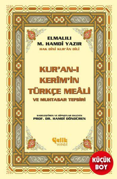 Kur'an-ı Kerim'in Yüce Meali Elmalılı M. Hamdi Yazır (Metinsiz Meal) Hafız Boy